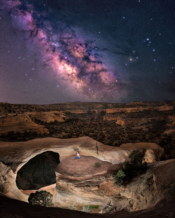 milky way night sky photography