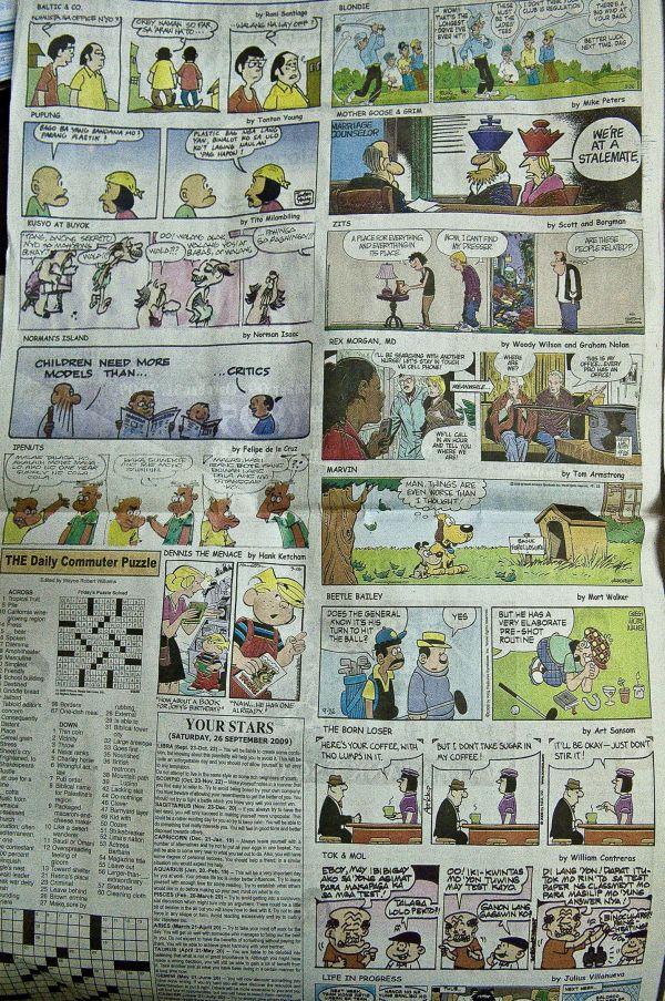 daily comic