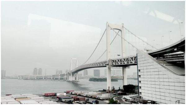 Odaiba Train Tokyo Japan