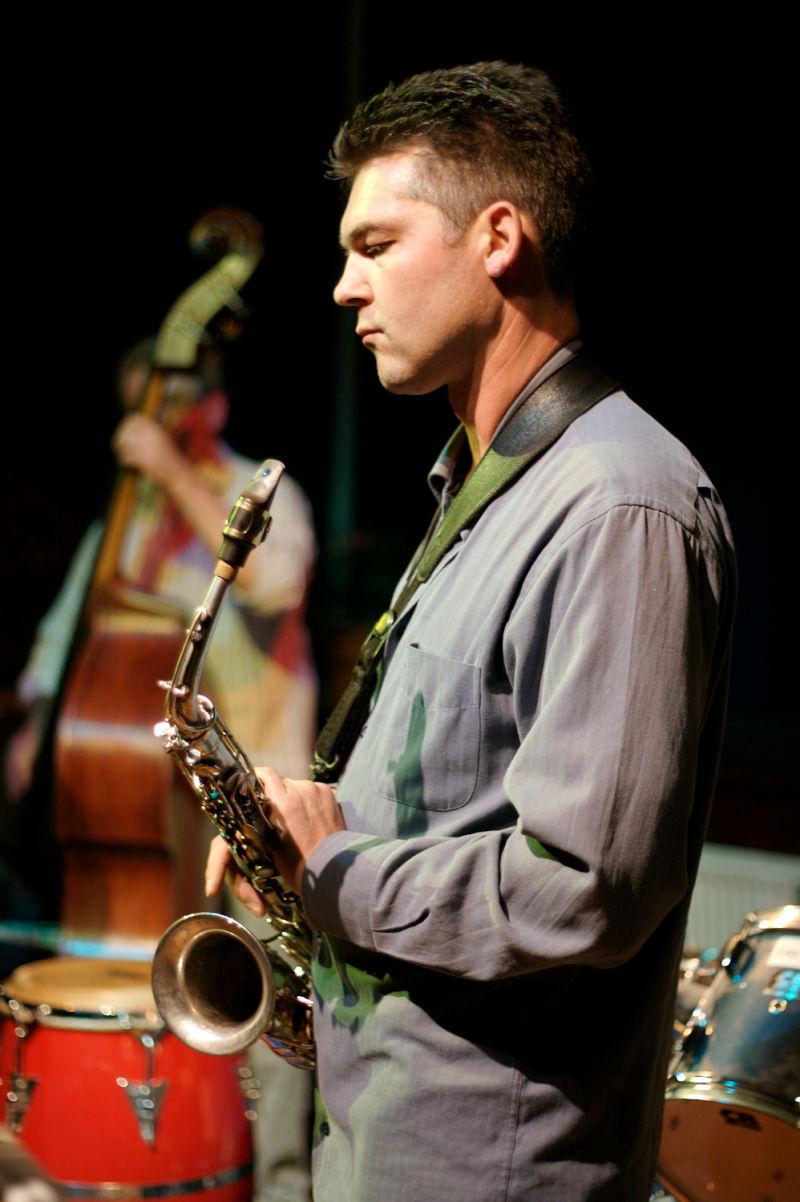 Thorsten Lehman Saxophone at Jazz Workshop, Henley