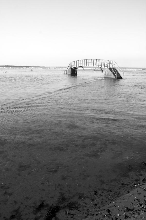 Bridge to Nowhere at Belhaven, Dunbar