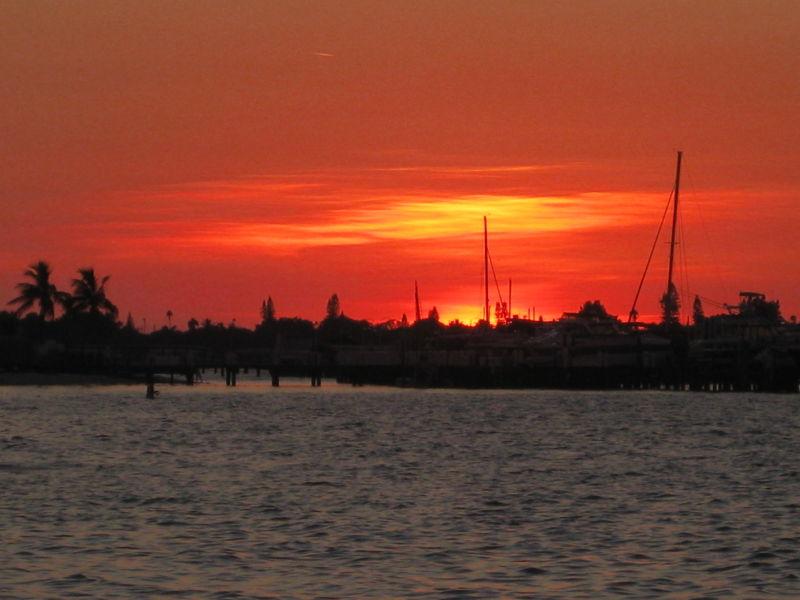 Marina 2 at sunset