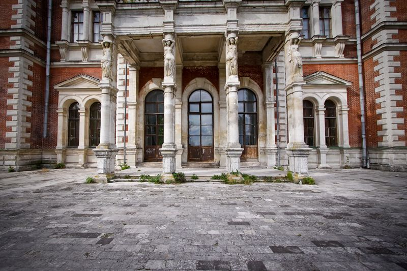 Neglected Russian Castle