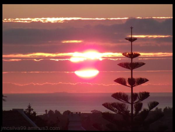 Summer sunset from my windows