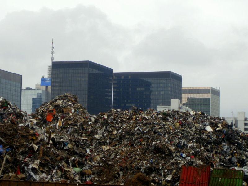 Brussels Belgacom Trash