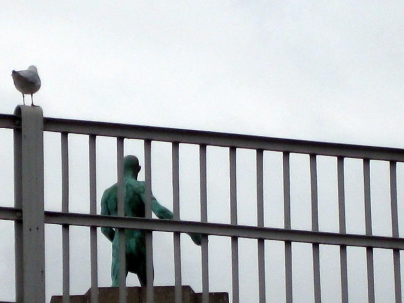 sculpture bird Brussels