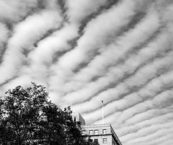 sweeping clouds