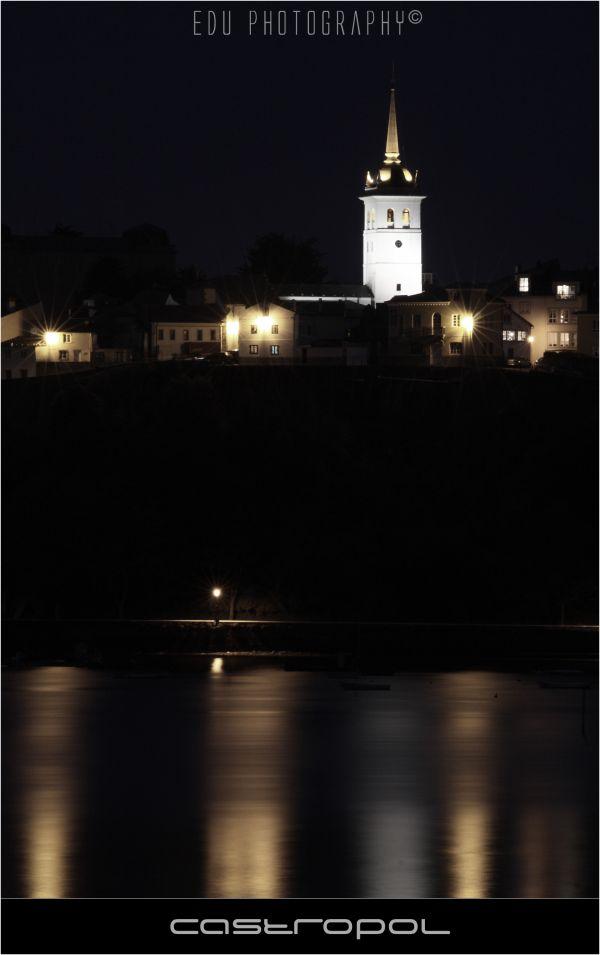 Castropol noche