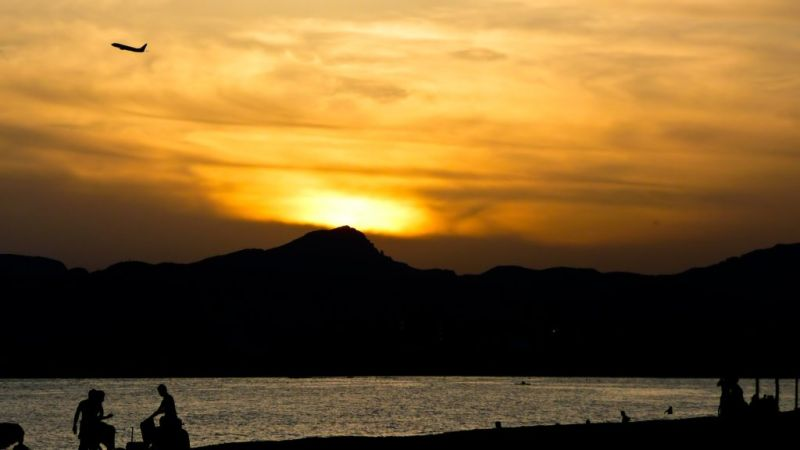 Sunset at Playa de Palma