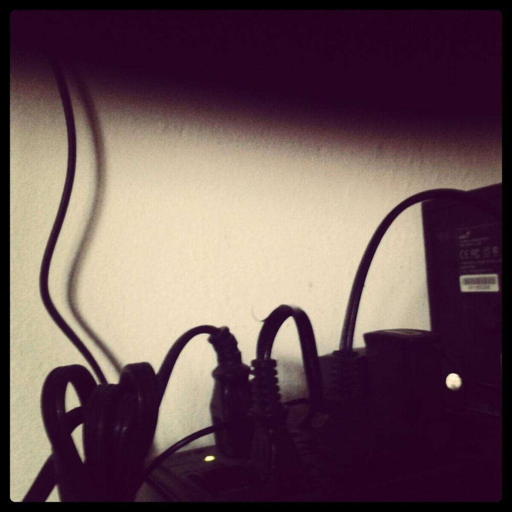cables y luz