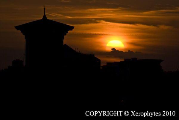 Sun Series: Sunset