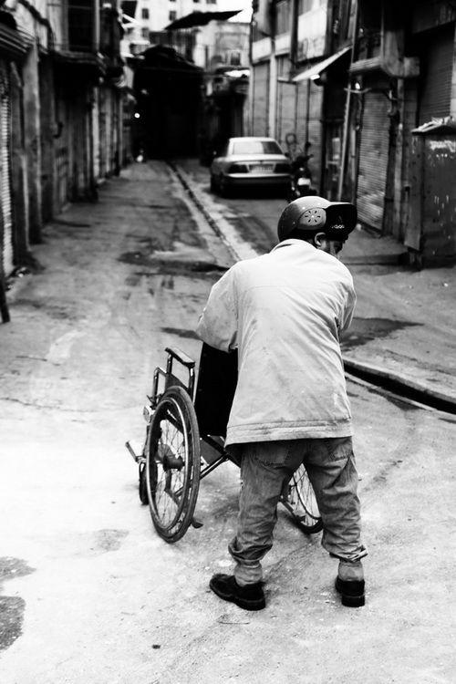 disabled man