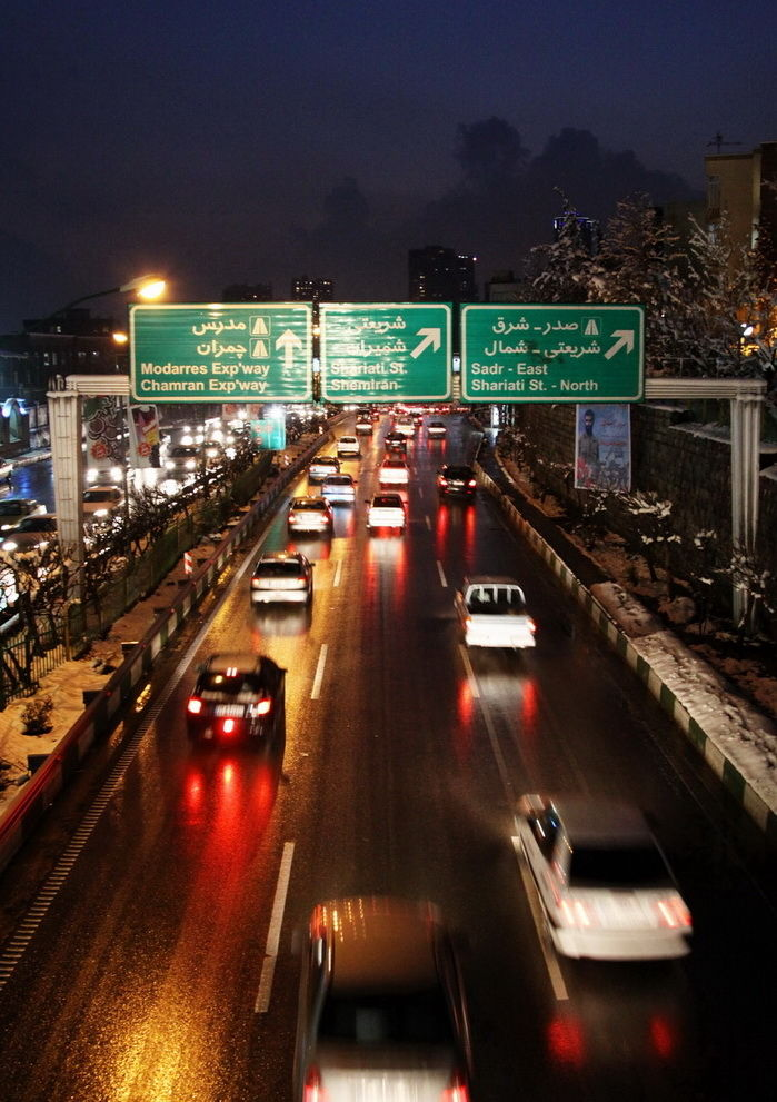 Night in tehran