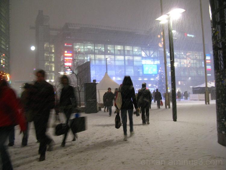Lisää lunta / More snow