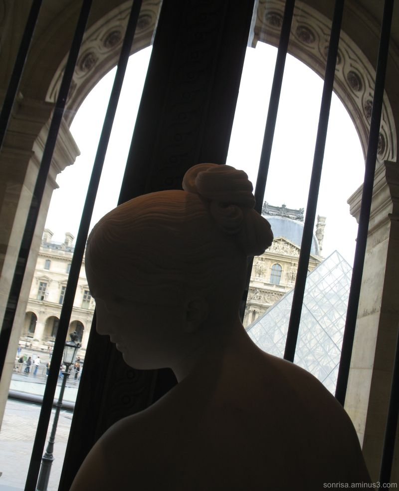 Statue at the Louvre