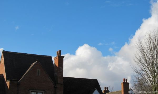 Rooftops in the Cotwolds