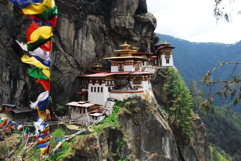 The Tigers nest Monastery - Bhutan