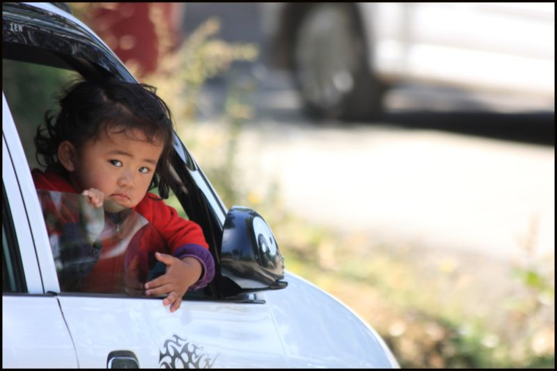 A baby at Driver