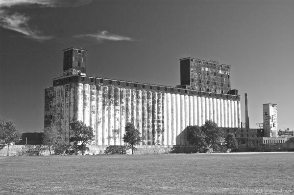 urban industrial decay in Red Hook Brooklyn