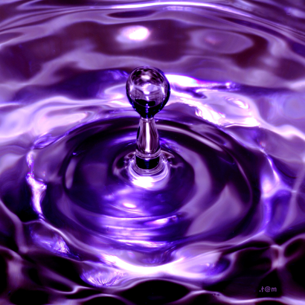 Purple splash