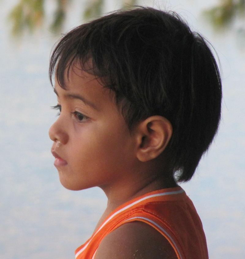 boy from Kiribati