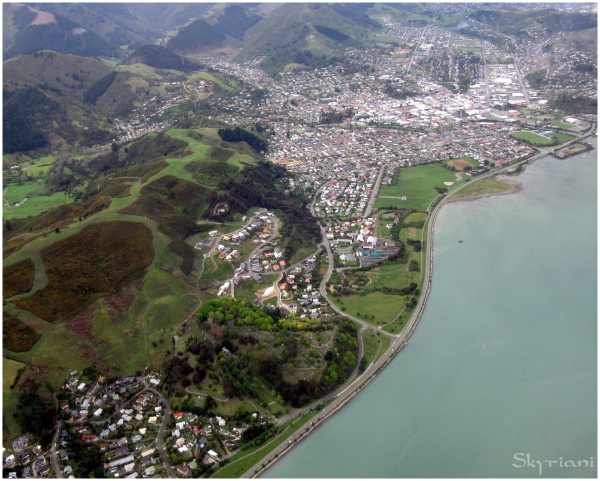 Nelson from the air