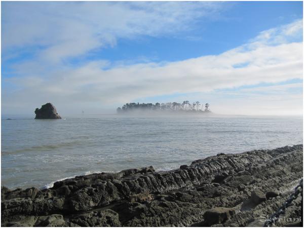 Haulashore Island in Mist
