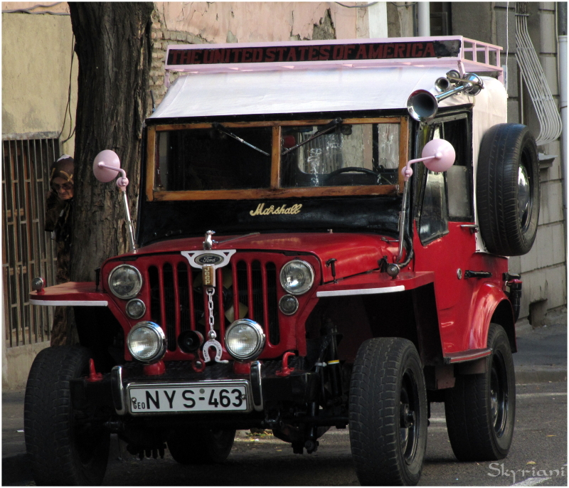 Marshall jeep