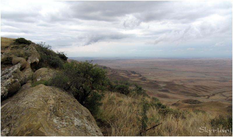 From David Gareja looking towards Azerbaijan