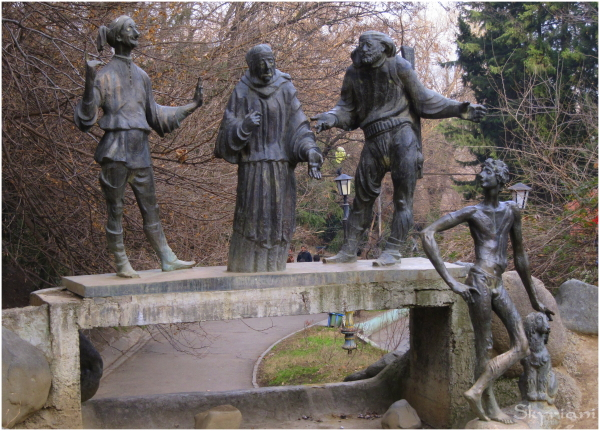 Tbilisi's Whimsical public art