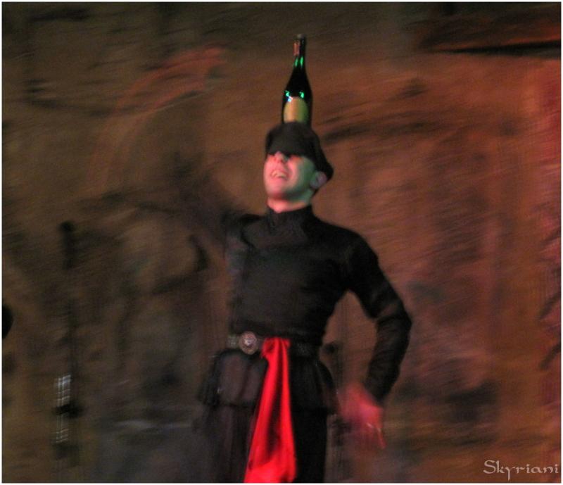 Georgian wine dance