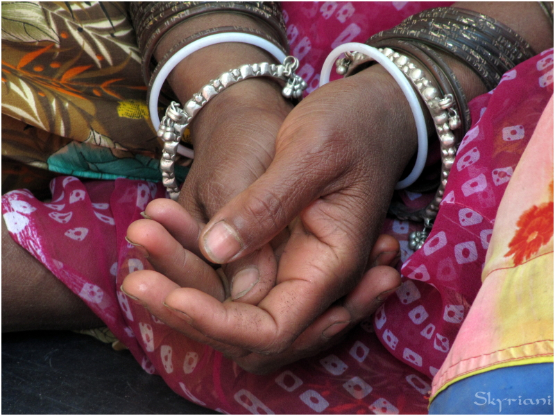 Images of Rajasthan III: Hands