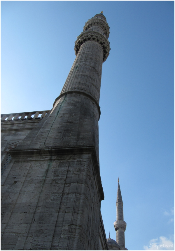 Minarets of the Blue Mosque