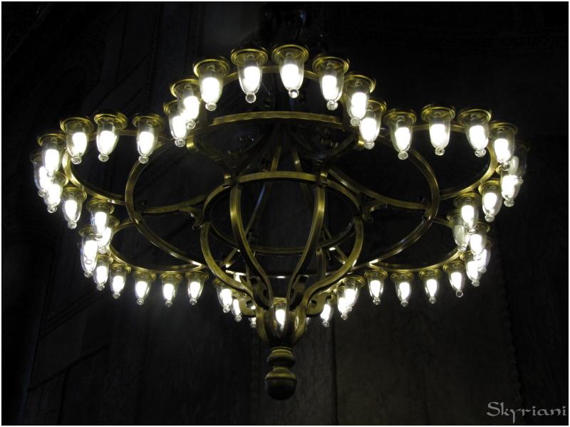The Lamps of the Hagia Sophia