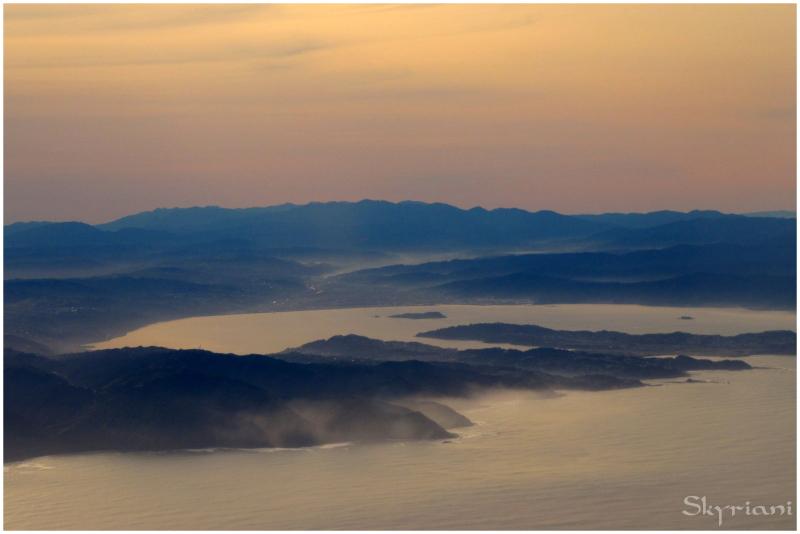 Wellington through mist and ash