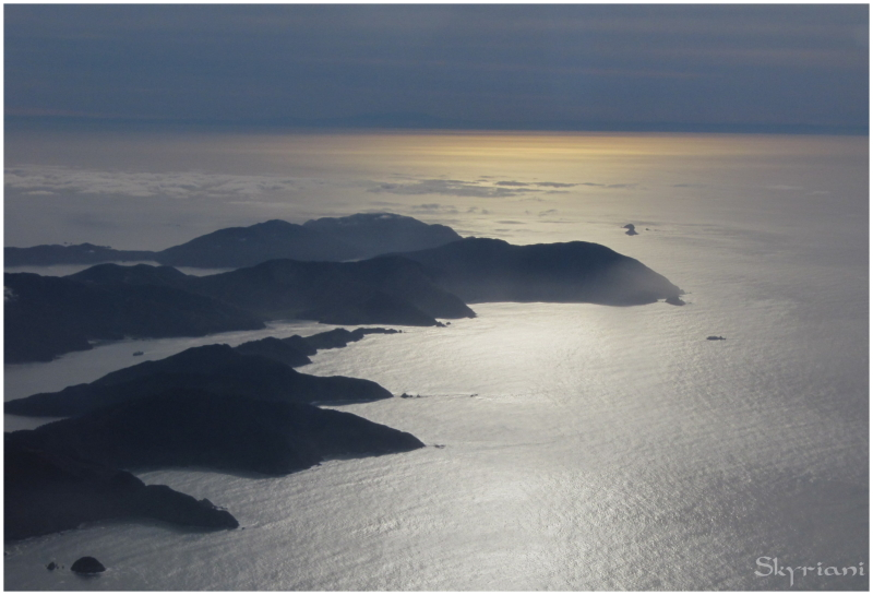 The Marborough Sounds and Cook Strait