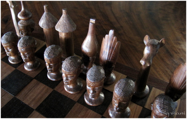 Mozambican Chess Set
