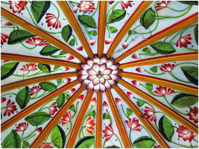 Mandala on the Ceiling II