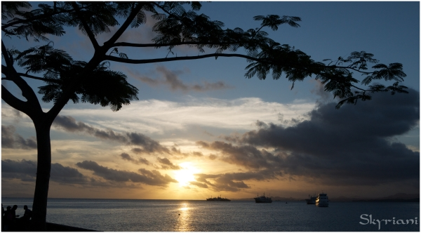 Suva  sunset
