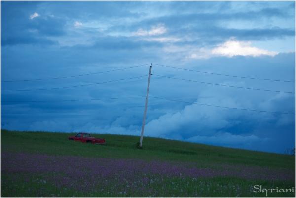 Three power lines