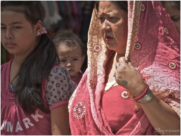 Kathmandu's people  IV