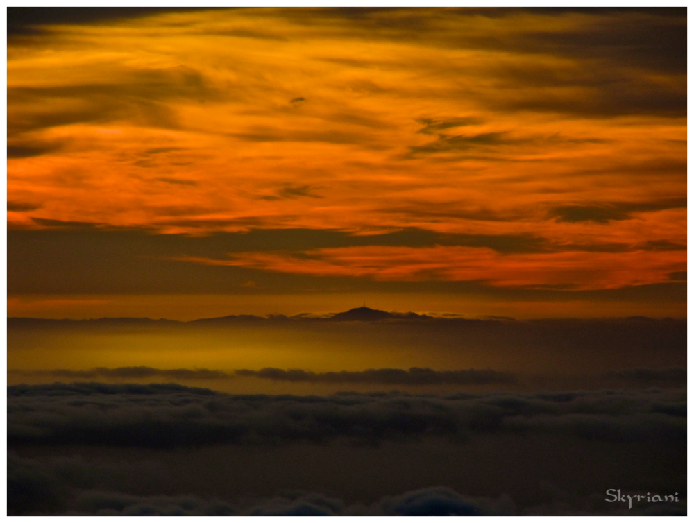 Sunrise over Mt Taranaki