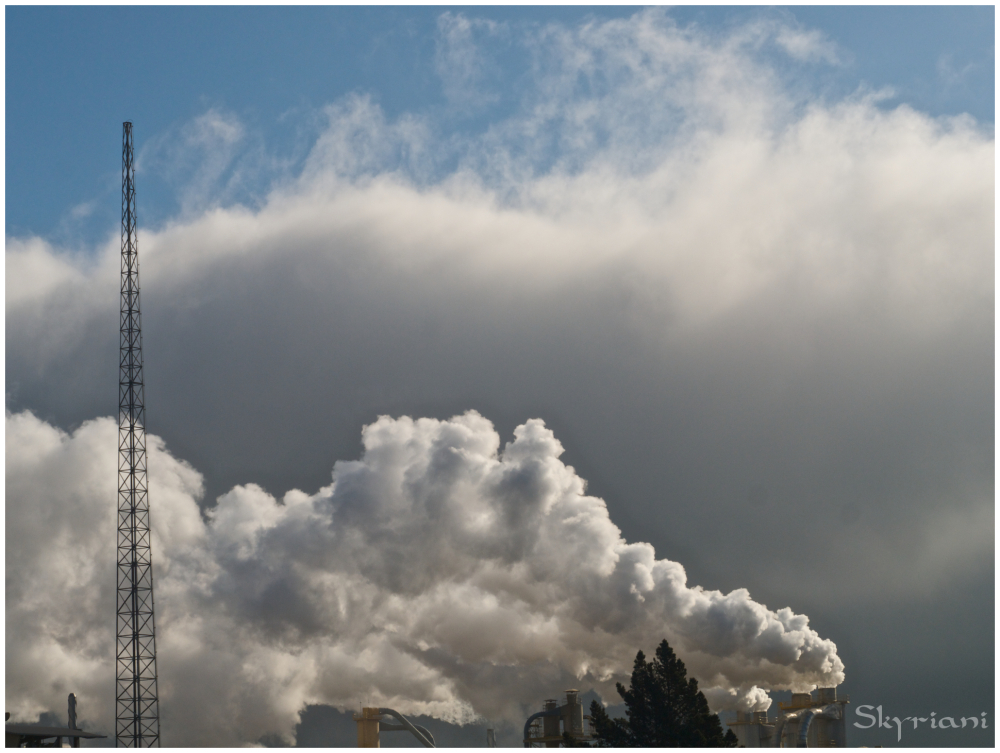 Industrial and natural cloud I
