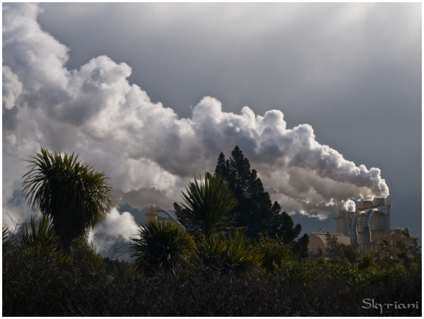 Industrial and natural cloud II