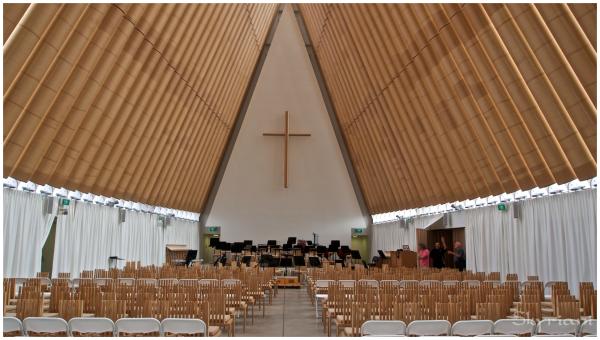 Cardboard Cathedral I