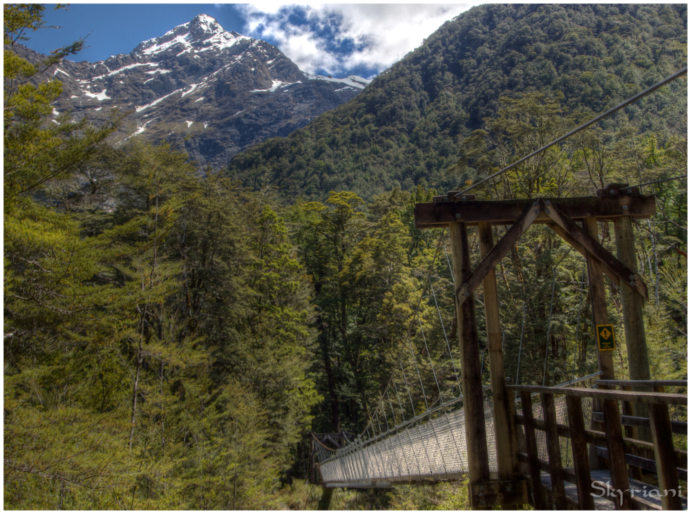 Commencing the Routeburn