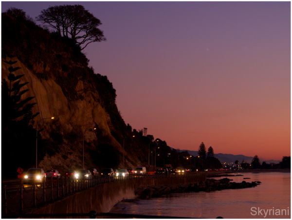 Rocks Road at Sunset