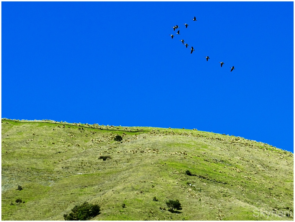 Flying above Esau Hill