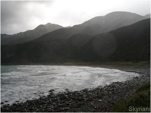 Stormy Kaikoura Coast