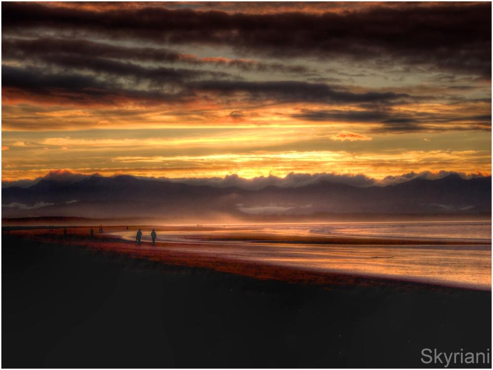 Tahunanui Beach at Sunset III